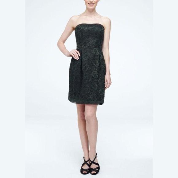 Short Strapless Lace Dresses
